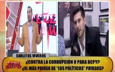 Picante ida y vuelta entre Álvaro Mora y Carlos Viveros