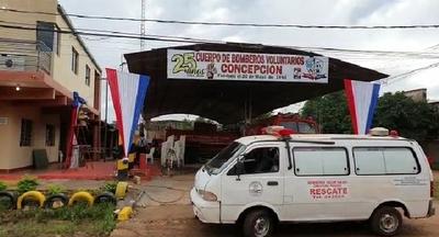Bomberos Voluntarios de Concepción cumplen 25 años de servicio