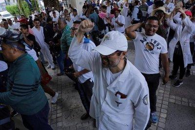 Protestas en Honduras contra gobierno de Hernández