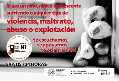 Conmemorarán en Yaguarón el Día Nacional contra el Abuso Sexual Infantil