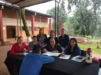 Jueces visitaron Centro Educativo de Menores en CDE