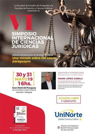 Uninorte presenta su VI Simposio Internacional de Ciencias Jurídicas