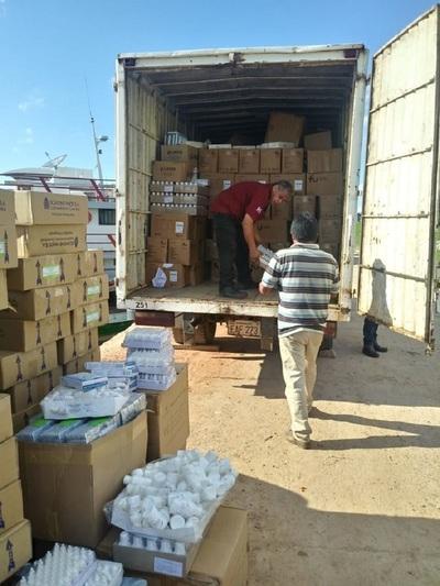 Entregan importante carga de medicamentos e insumos para Alto Paraguay