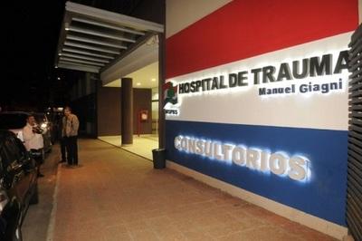 Médicos del Hospital del Trauma anuncian huelga