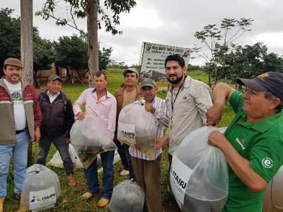 Agricultores de Puerto Indio apuestan a la piscicultura