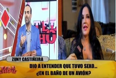 Zuni Castiñeira, ¿tuvo intimidad con el ex presidente de Brasil?