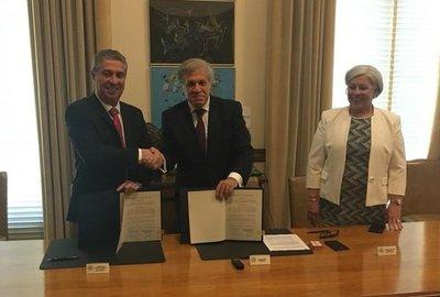 TSJE y OEA firman convenio de cooperación para Elecciones Municipales 2020