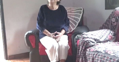 Enfermera de  71 años recibió un homenaje