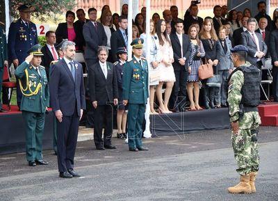 Gabinete militar festejó 75 años de creación