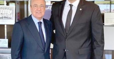 Trovato charló con el capo del Real Madrid
