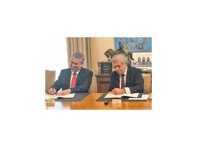 OEA y TSJE firman un convenio para aplicar desbloqueo