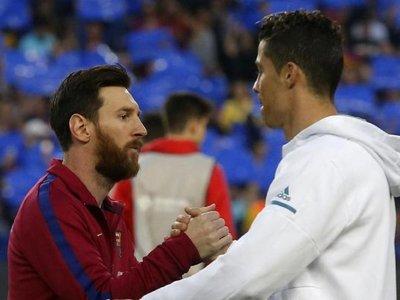 Messi echa de menos a Cristiano, Iniesta y Xavi