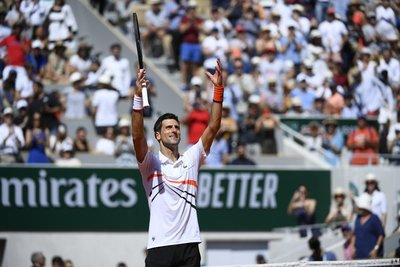 Novak Djokovic se metió a octavos del Roland Garros