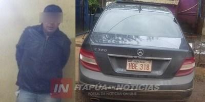 DETIENEN A SUP. AUTOR DEL DISPARO A JOVEN EN EL CENTRO DE ENCARNACIÓN