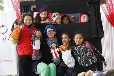 Con show de títeres buscan promover derechos de niños y niñas