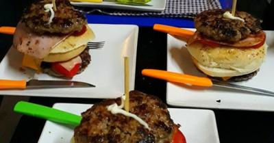"""La """"hamburguesa gua'i"""" es toda una sensación"""