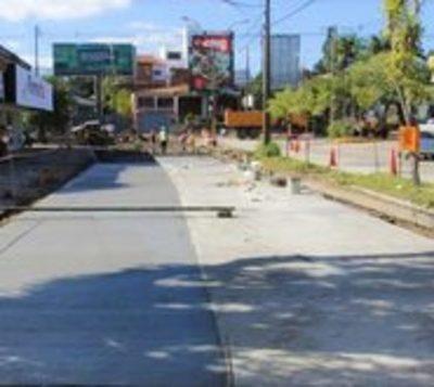Anuncian cierre de carril en la avenida San Martín