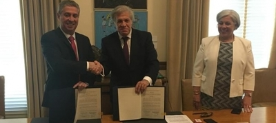 TSJE y OEA firman convenio con miras a las Elecciones Municipales 2020