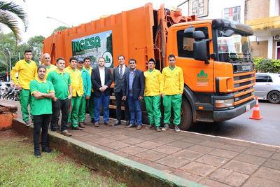 Contratan a la empresa INGESA para recolectar basura en Presidente Franco