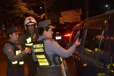 Patrulla Caminera demoró a 359 conductores alcoholizados