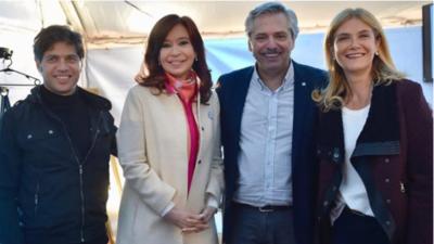 Organizaciones sociales con la fórmula Fernández-Fernández