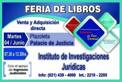 Mañana se realizará la Feria de libros en la sede de Asunción