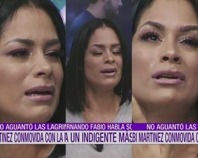 """Fabi Martínez rompió en llanto en """"El Resumen"""""""