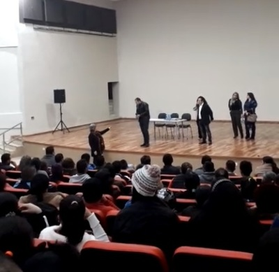 Miguel Prieto asegura tranquilidad en la Escuela de Artes y Oficios