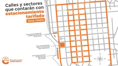Encarnación: Estacionar en zona centro y comercial tendrá costo