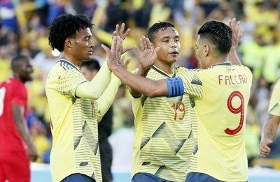 Colombia goleó en el Campín