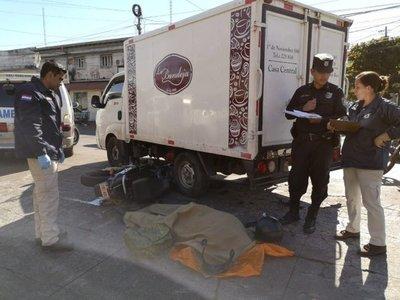 Accidente fatal sobre Eusebio Ayala