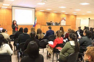 Secretaría de Género presenta taller sobre Ley Nº 5777
