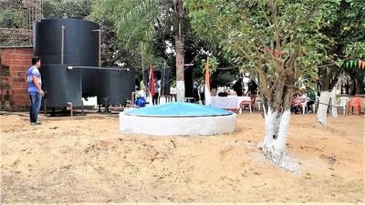 Una solución para el acceso al agua en la pujante distrito de Carmelo Peralta