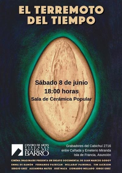 Estreno del documental «El Terremoto del tiempo» en el Museo del Barro