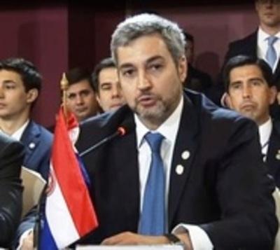 Mario Abdo celebra fallo a favor de Paraguay de la Corte IDH