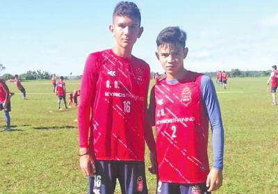 Citan a la selección a futbolistas de Corrales