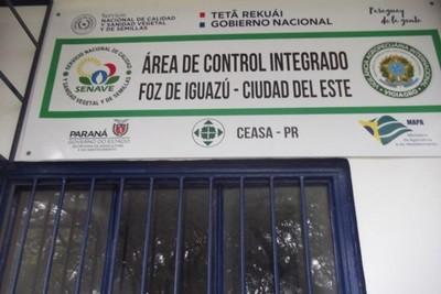 Ceasa de Foz de Yguazú facilita inspección de productos hortícolas que ingresan a Paraguay