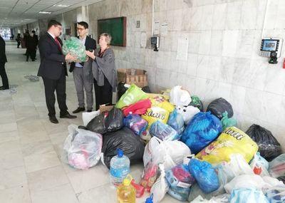 Donativos de Central y Cordillera para familias damnificadas