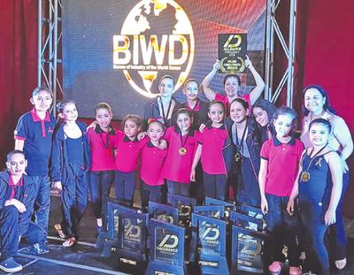 Bailarines esteños concursarán en EE.UU.