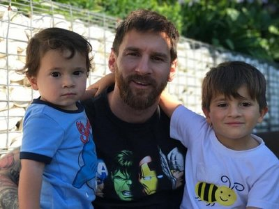 Messi revela anécdota de su hijo Mateo: ¡celebra los goles del Madrid!