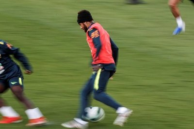 Neymar bajo presión
