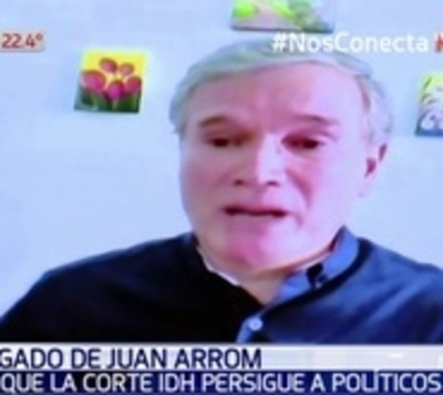 "Abogado de Arrom alega que CorteIDH persigue a ""enemigos políticos"""
