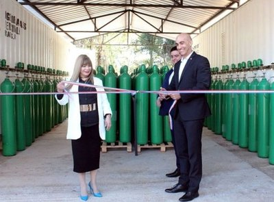Inauguran planta de oxígeno