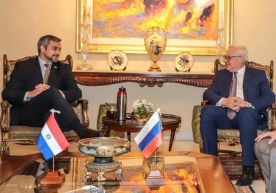 Jefe de Estado recibe a Viceministro de Asuntos Exteriores de la Federación de Rusia