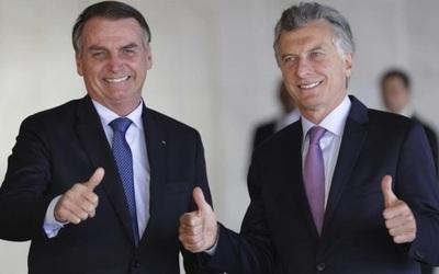 Macri recibe a Bolsonaro en la Casa Rosada para mantener reunión bilateral