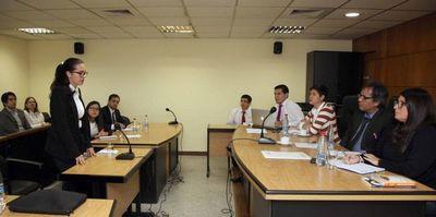 Competencia interuniversitaria en litigación penal fue lanzada