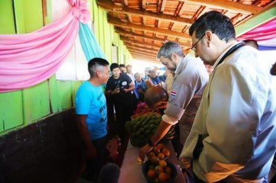 Gobierno entrega aportes para la educación y habilita aulas en San Pedro
