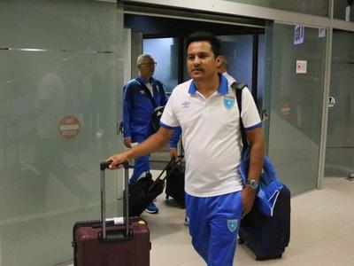 Guatemala arribó para jugar ante Paraguay