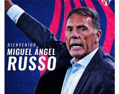 Cerro Porteño anuncia a Miguel Ángel Russo como nuevo entrenador