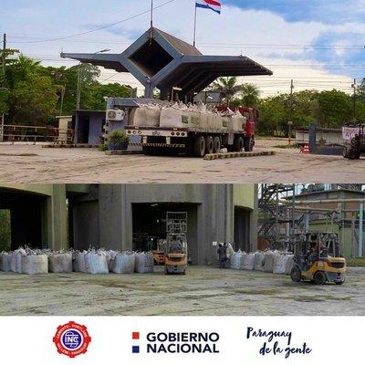 INC con buena producción de 2000 toneladas por día